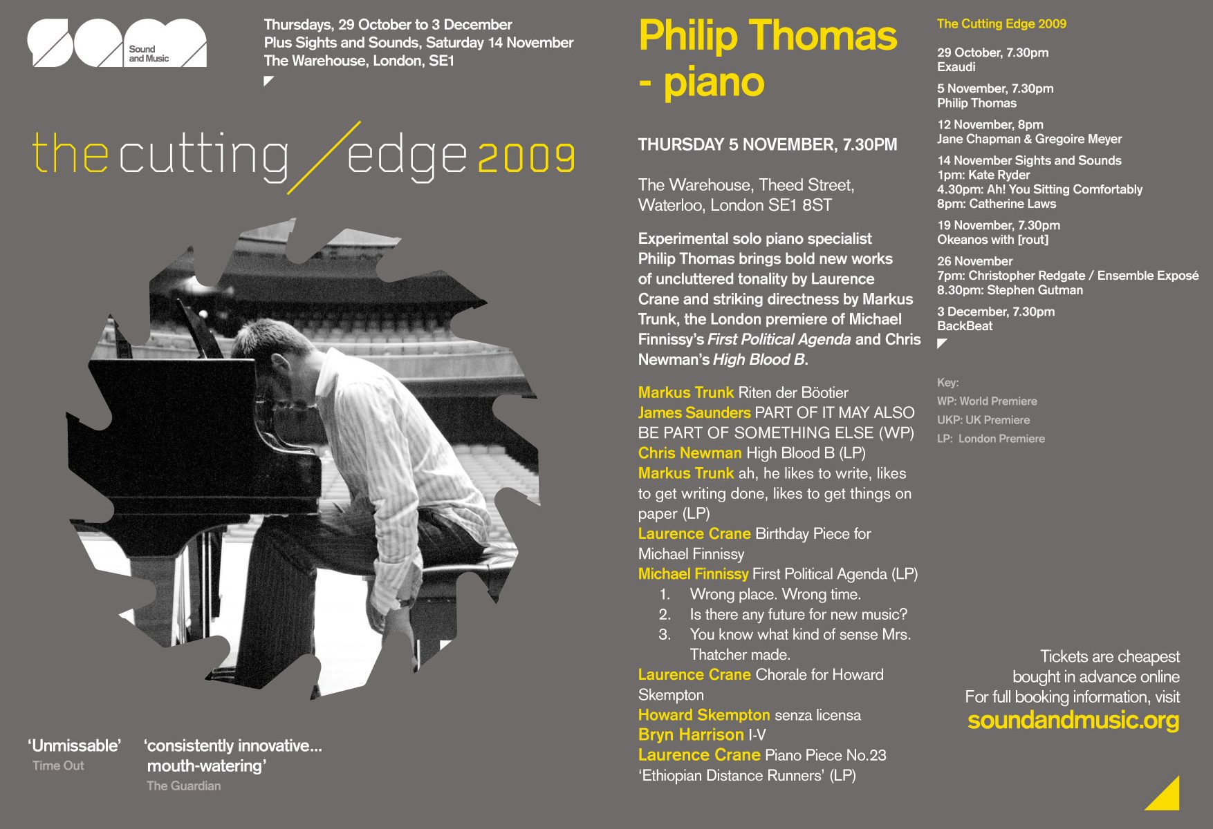 The Cutting Edge - philip thomas